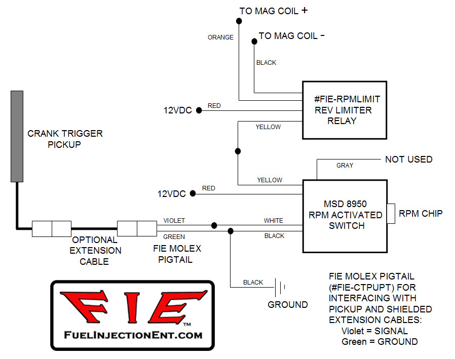 fie magnetos mechanical fuel injection efi fuel injection rh fuelinjectionent com Wiring MSD 8738 Wiring MSD 8738